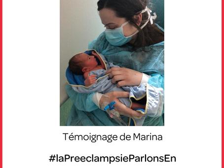 Eclampsie post-partum et retard de diagnostic (Marina)