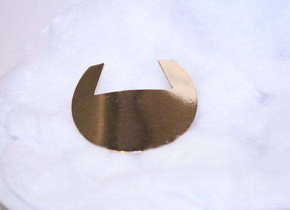 Golden Guard round Haarspange