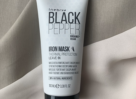 Inebrya Black Pepper Mask Hitzeschutz