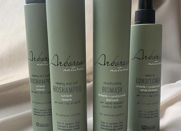 Arborea Natura Set+ 1 Shampoo gratis!