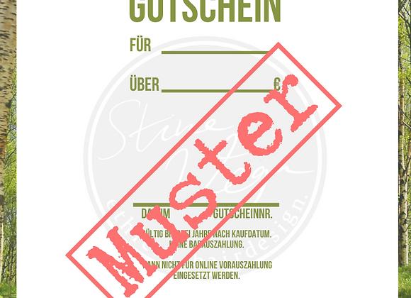 Aktions-Gutschein als PDF spare 5-20€