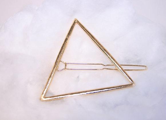 Pyramid Gold Haarspange