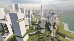 Imagining Singapore CBD in 2100