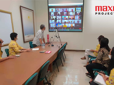 Projector Maxell eGathering 2020 !!!