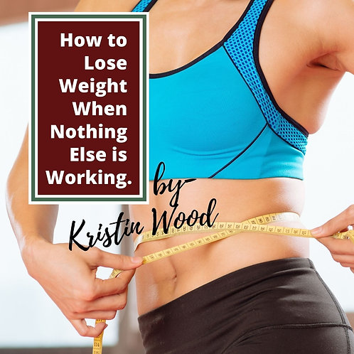 How To Lose Weight When Nothing Else Is Working - USE Promo Code: FREEBIE