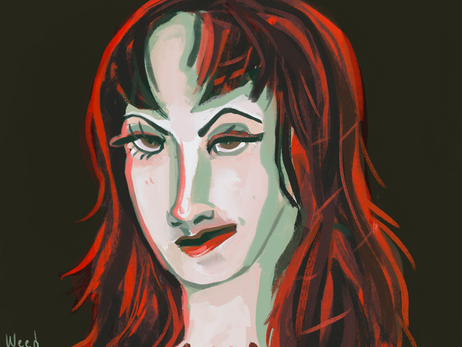 Hell Girl's Portrait