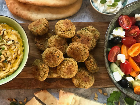 Thanks Tom for the Healthy Baked Falafel Recipe X