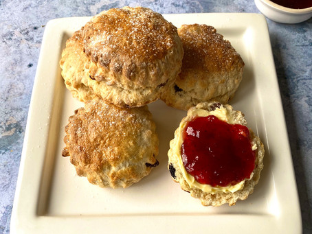 Cook Along with Steph Scones