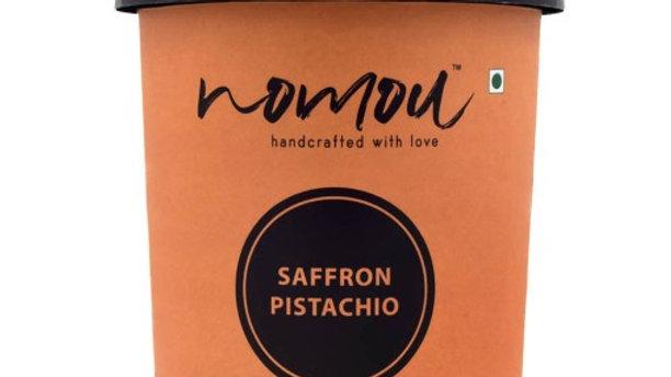 Nomou Saffron Pistachio Ice Cream