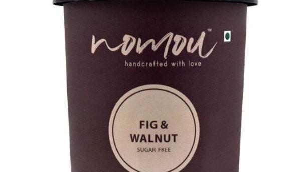 Nomou Fig & Walnut Ice Cream
