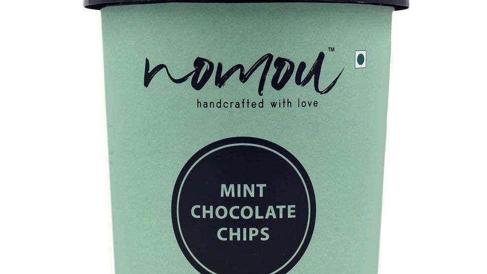 Nomou Mint Chocolate Chips Ice Cream