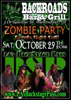10 BSP Sat29Oct16 BackroadsBarandGrill Zombie Party