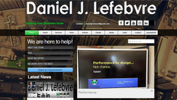 Daniel J. Lefebvre website photo1
