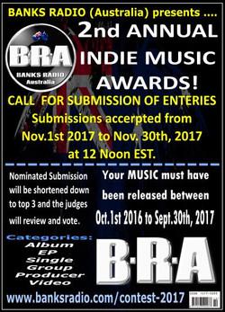 BRA 2nd Annual Indie Music Awards