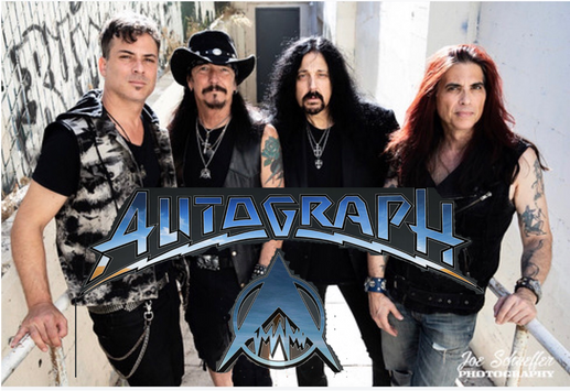 Autograph Promo Photo with Logo Official