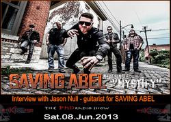 06 June 08 2013 jason null guitarist Saving Abel poster1
