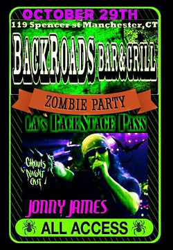 10 Sat29Oct16 Backroads Bar and Grill Zombie Party LasBSP