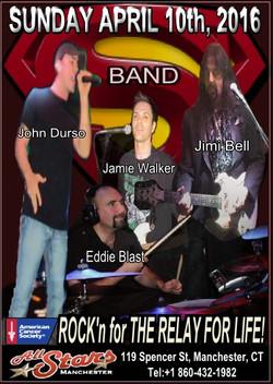 04 10Apr16 All Stars Rock Bar with John Durso Eddie Bast Jamie Walker and Jimi Bell