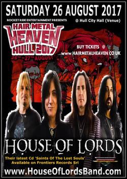 08 Sat26Aug2017 HOL at Hair Metal Heaven Poster