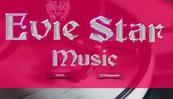 EvieStarMusic Website Enter Page