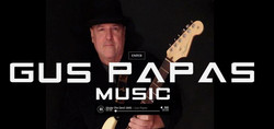 GusPapaasMusic Website Enter Page