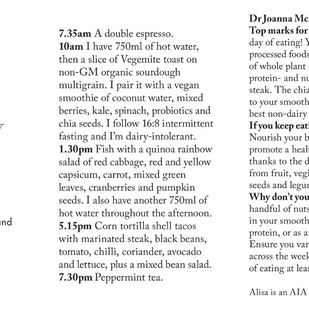 """""""Day on a Plate"""", Sydney Morning Herald Feature"""