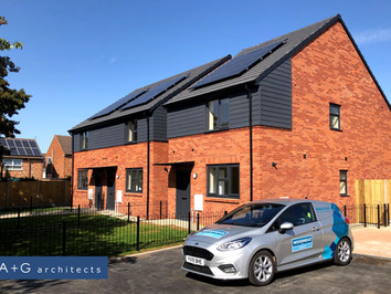 Leicester City Council Housing Project - Handover of first site of the Phase 1 projects
