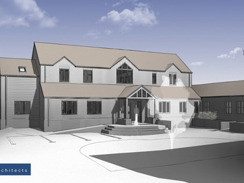New Leicestershire farmhouse
