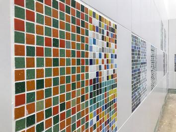 Mosaics unveiled at Birkett House School
