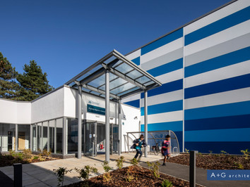 Parkin Sports Centre at LSF nominated for Charnwood Design Awards!