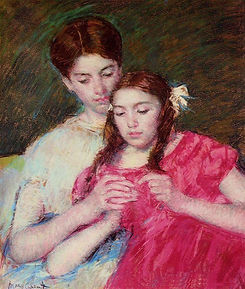 In My Sister's Body_Mary Cassatt TheCroc