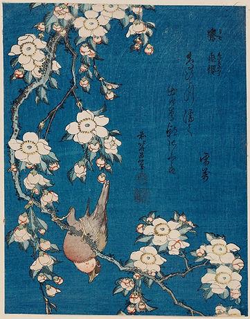 Spring 2021_Katsushika Hokusai Bullfinch