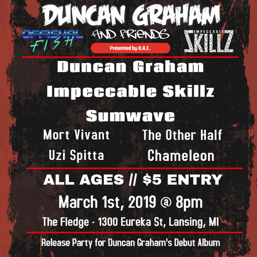 Duncan Graham And Impeccable Skillz Live