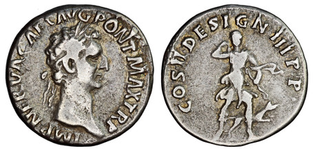 Nerva Denarius - Diana the Huntress (RIC 11), 96 AD
