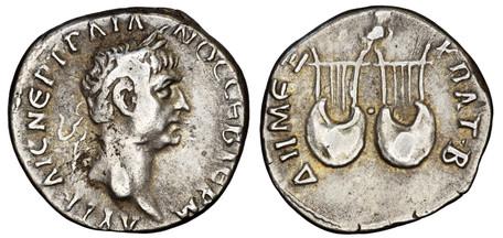 Trajan Drachm - Two Lyres (Sear 1046), 98-99 AD