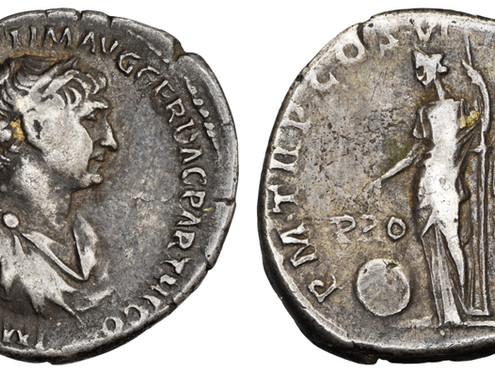"""""""From the collection of…"""" – A denarius with a fascinating provenance"""