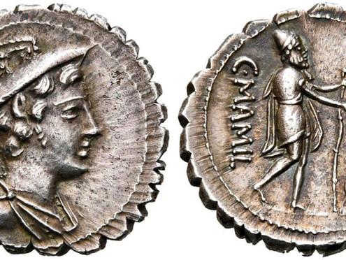 Numismatic Odyssey: the reunion of Odysseus with his faithful dog Argos
