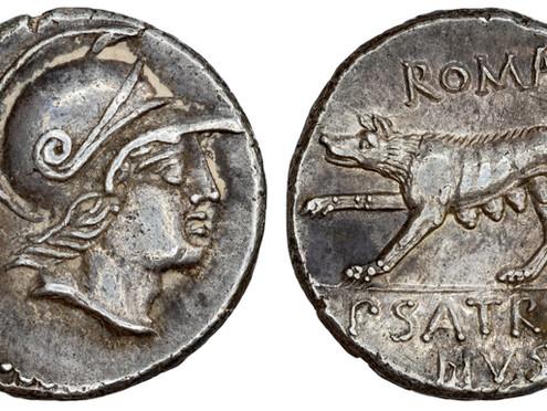 Another Publius Satrienus Denarius - Insights into the Roman Mint