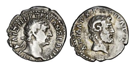 Trajan Hemidrachm - Zeus Ammon (Sear 1068), 101-102 AD