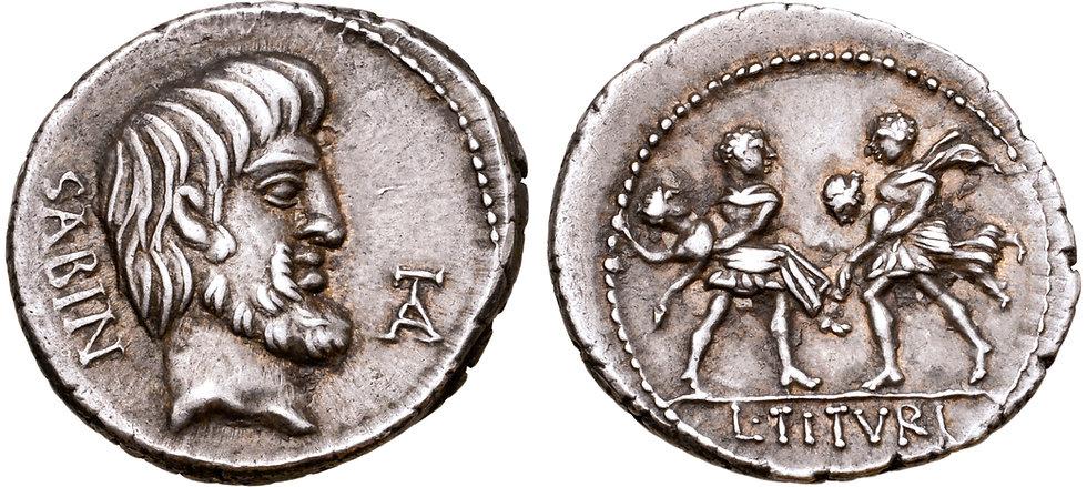 A8 Tuturius Sabinus Rape Sabines 89 BC.j