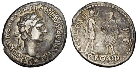 Trajan Denarius - Trajan and Nerva (RIC 28), 98-99 AD