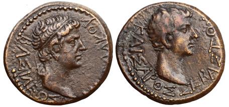 Augustus AE20 - King Rhoemetalces I (RPC 1718), 11 BC