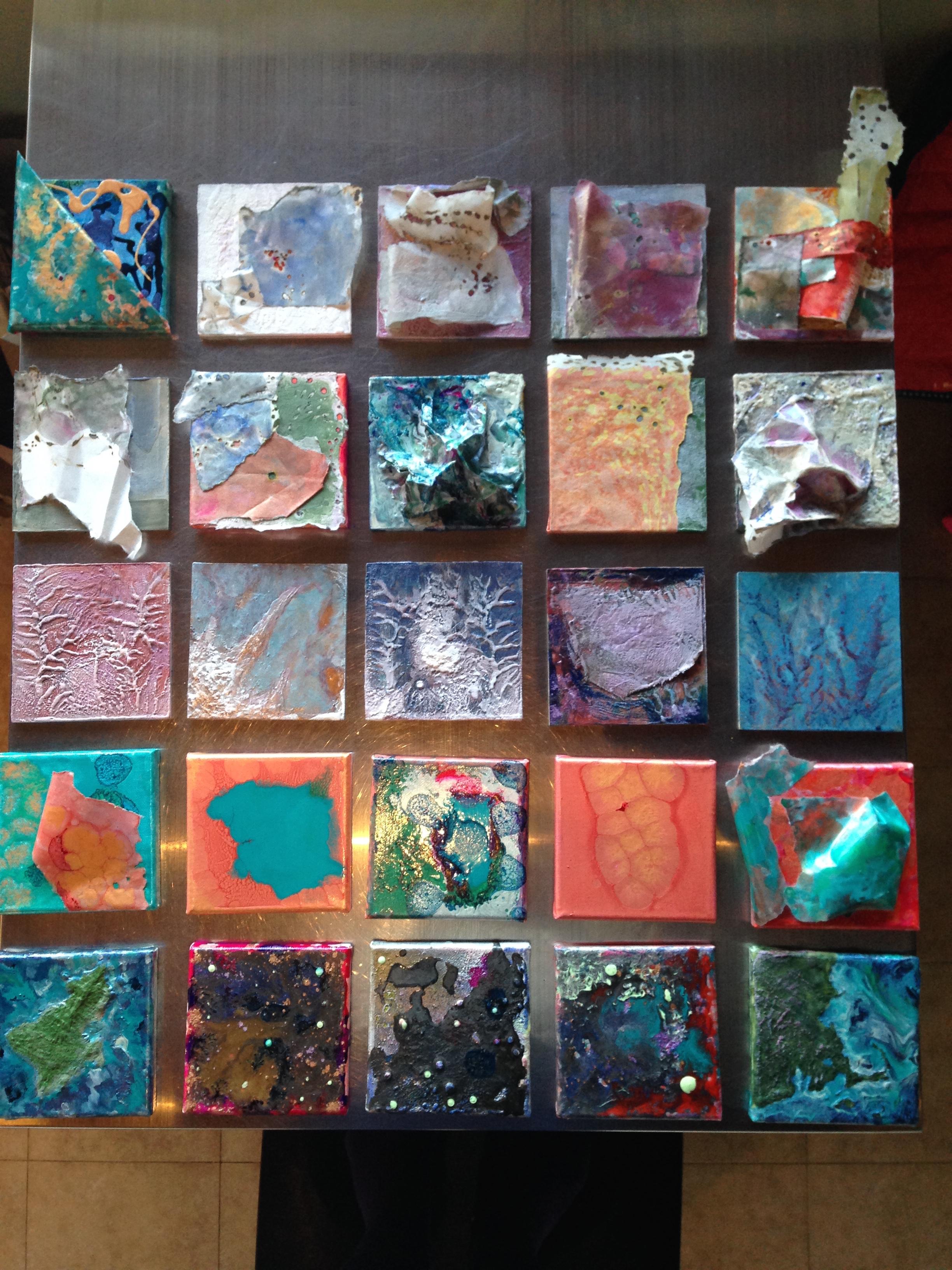 5 x 5 x 25 ARTspot Challenge