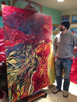 Uncrating of Phoenix Rising