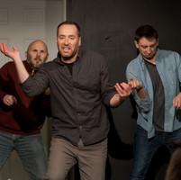 Adrien Boudreau, Mike Mayo, Charlie Adler