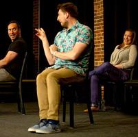 Mike Mayo, Charles Adler, Erin McCall