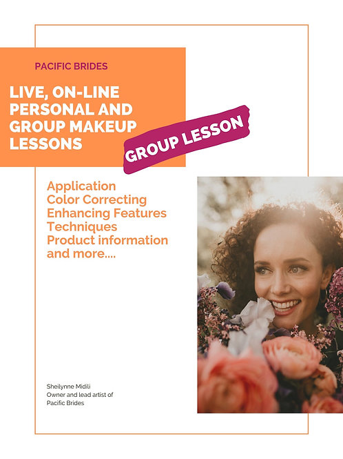 Group makeup lessons