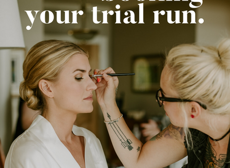 Your trial run with Pacific Brides