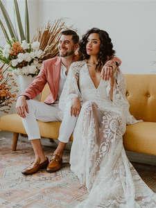 Urban-Boho-Wedding-Seattle-City-Wedding-