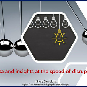 Data and insights at the speed of disruption